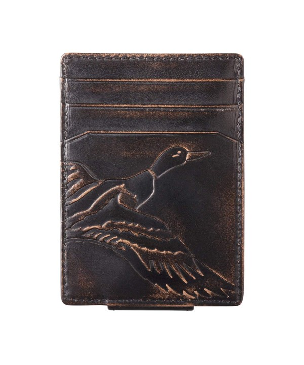 Co Pocket Wallet Strong Magnetic Closure Slim