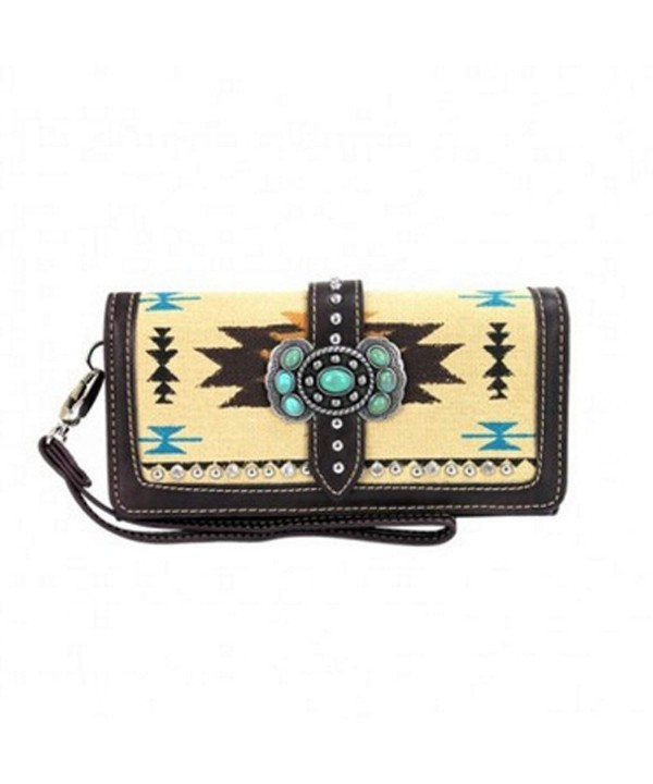 Montana West Collection Turquoise Studded