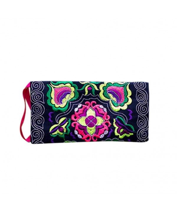 DZT1968 Womens Embroidered Holder Handbag