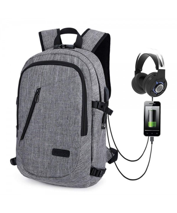 JINRUCHE Anti Theft Backpack Charging Resistant