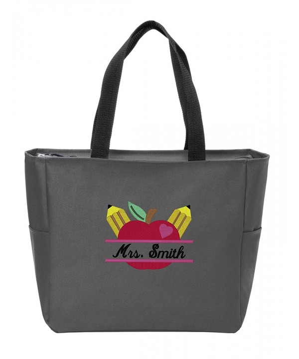 Company Personalized Monogram Shoulder Charcoal