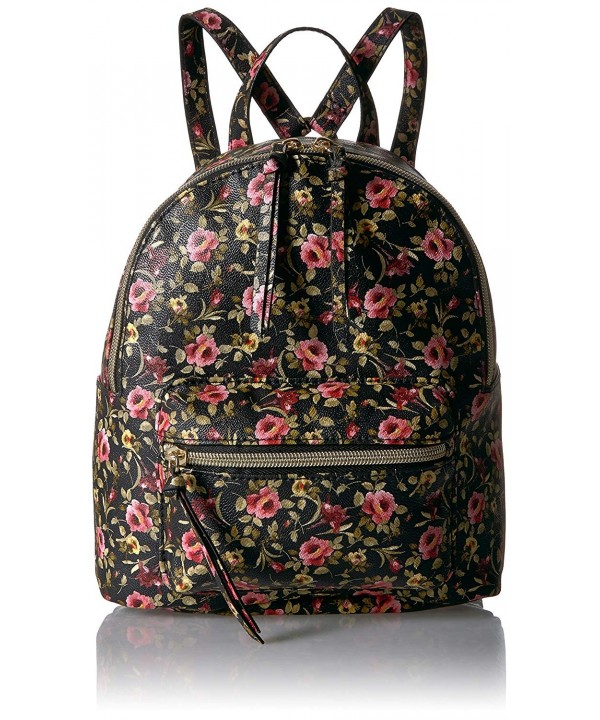 T Shirt Jeans Floral Back Pack