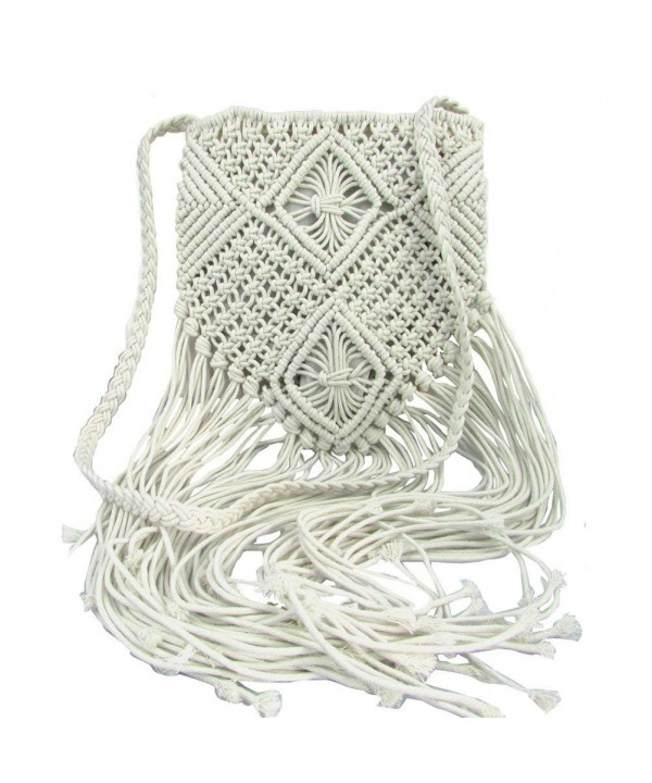 Donalworld Shoulder Bohemian Crochet Messenger