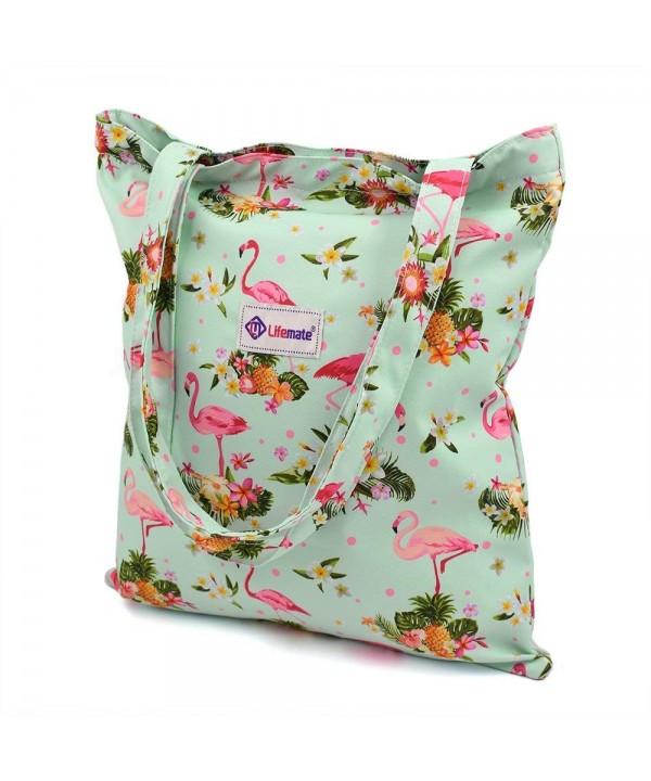 LIFEMATE Waterproof Shoulder Shopping Flamingo