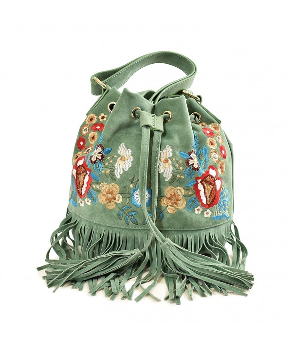 Imoshion Fashionable Embroidered Crossbody Adjustable