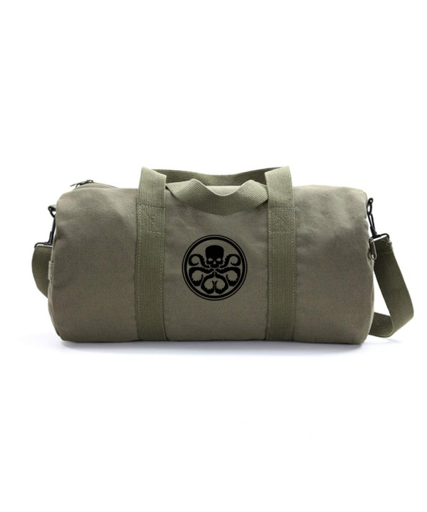 Hydra Heavyweight Canvas Duffel Olive