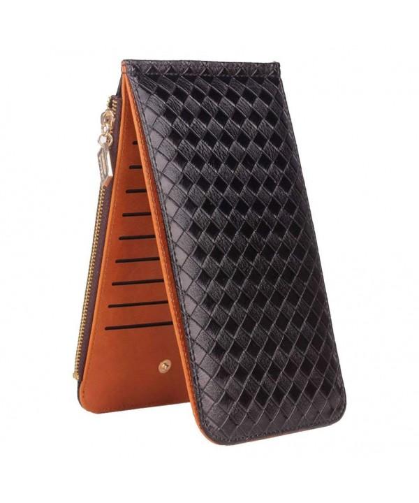 Leather Credit Holder Wallet Clutch
