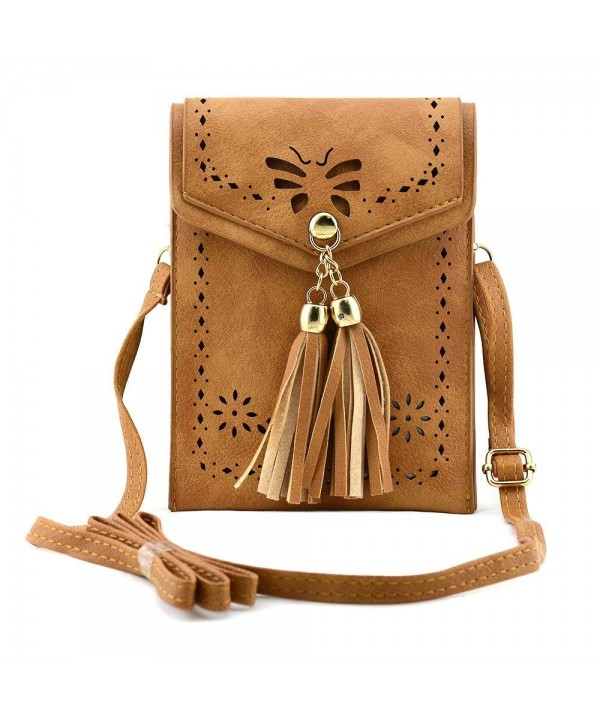 Bausweety Crossbody Portable Shoulder Leather