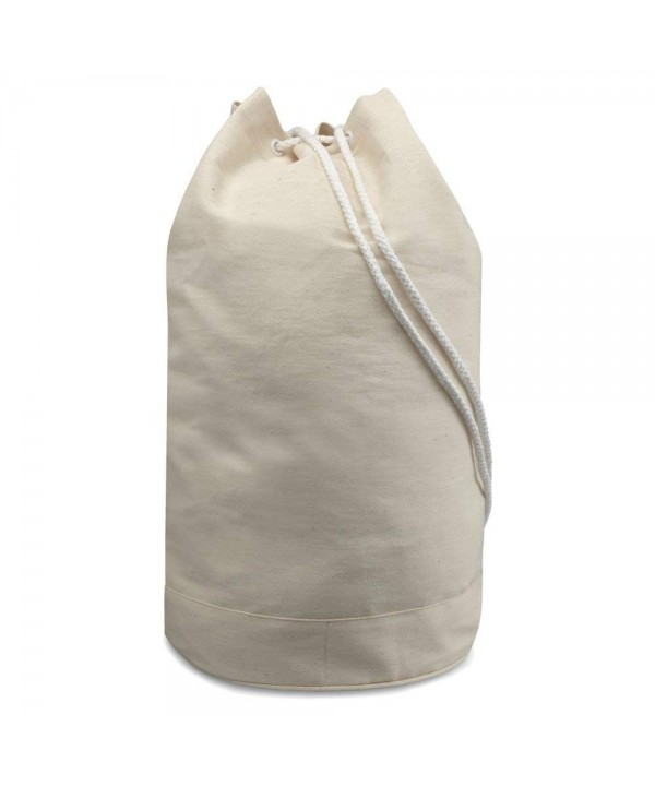 eBuyGB Cotton Drawstring Sailor Bag
