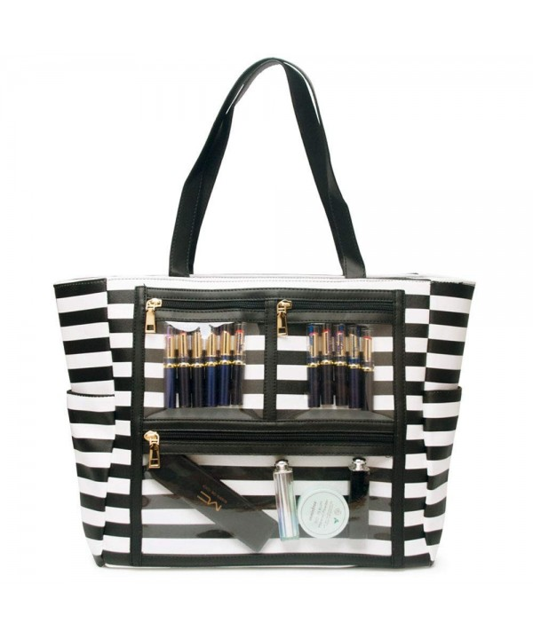 Leather Handbag Striped Marketing Presentation