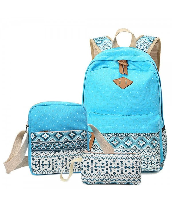School Backpack Canvas College Backpacks