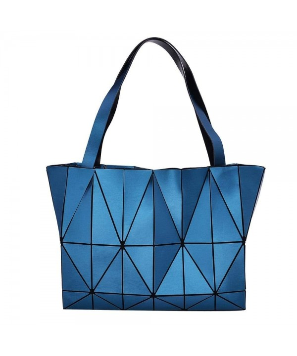 Grey Diamond Lattice Handbag Women
