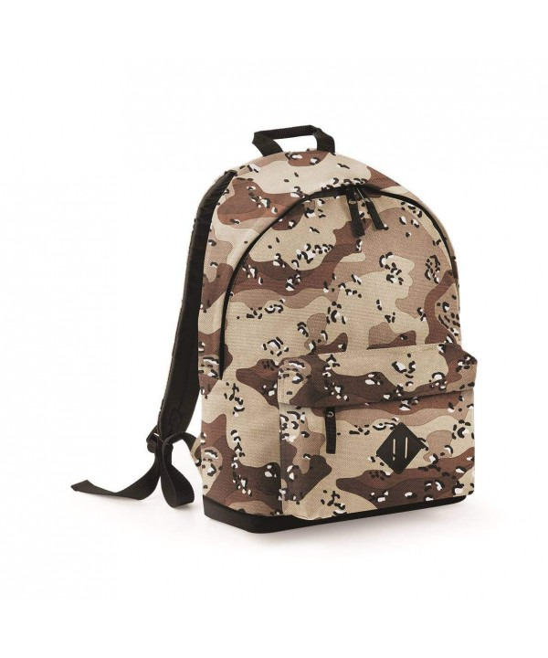 BagBase Camo Backpack Desert