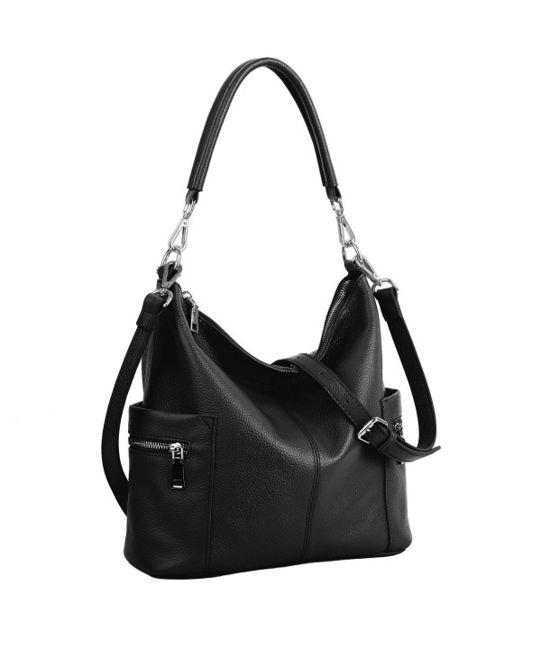 YALUXE Womens Cowhide Leather Shoulder