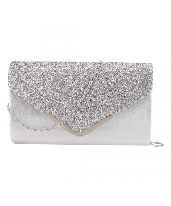 Gabrine Sequins Evening Envelop Handbag