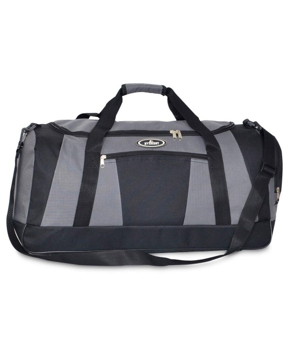 Everest Casual Duffel Pocket Large Black
