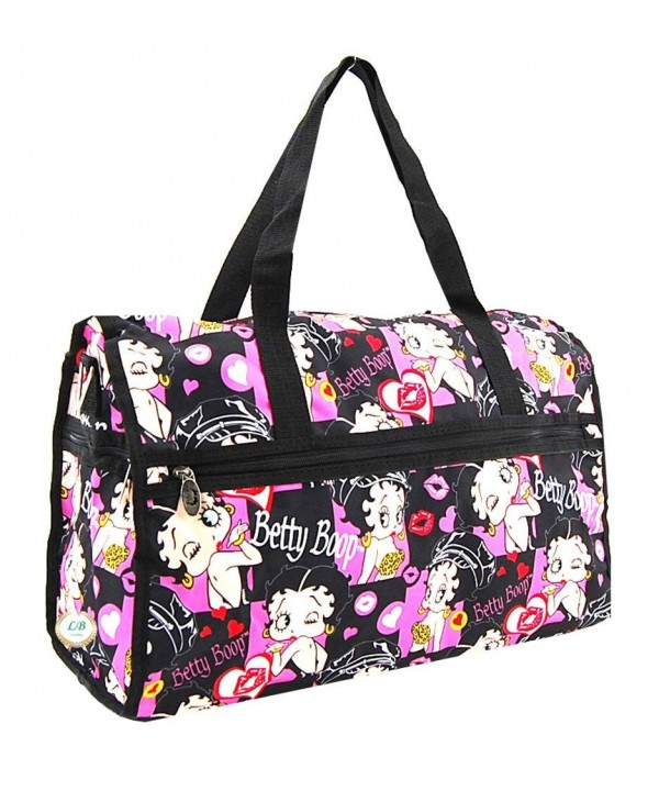 Betty Boop Duffel Durable Microfiber