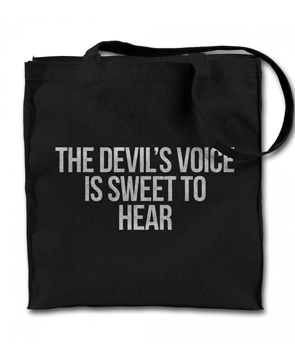 Devils Satanist Canvas Shopping Shoulder