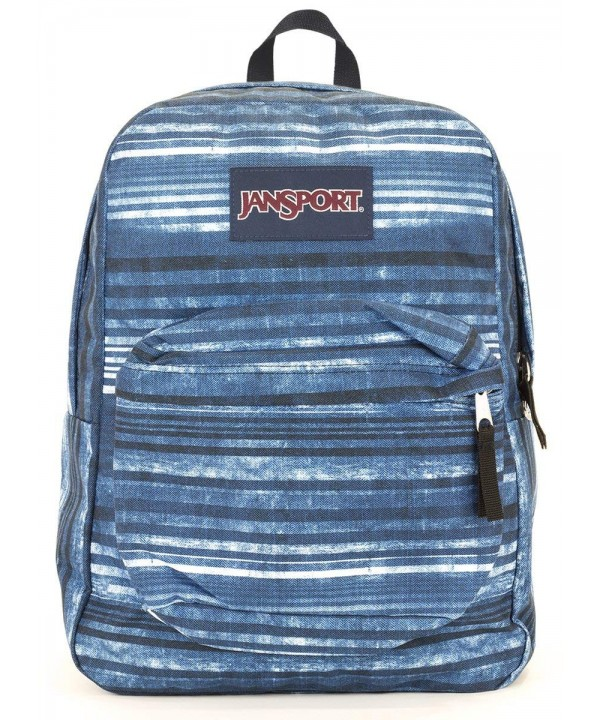 Jansport Superbreak Backpack variegated stripe