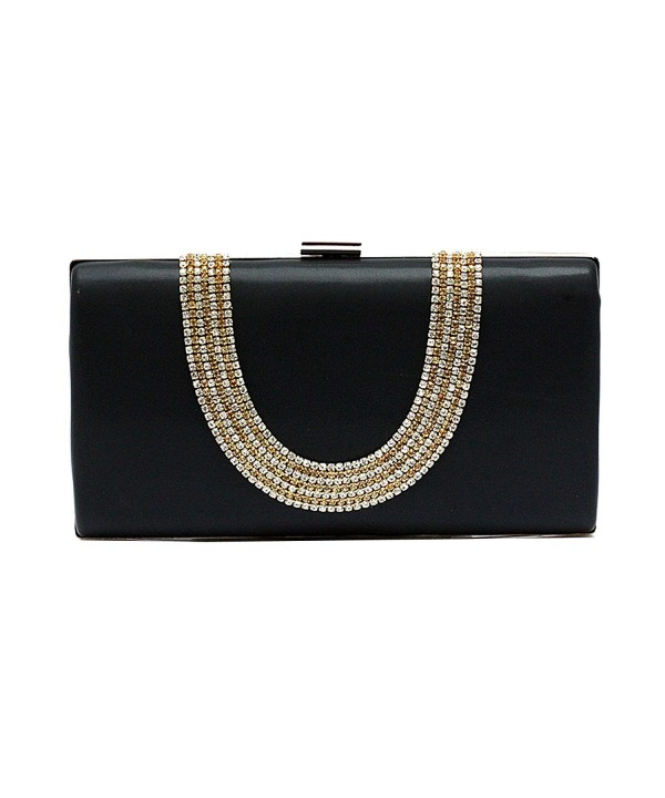 EPLAZA Capacity Rhinestone Evening Handbags