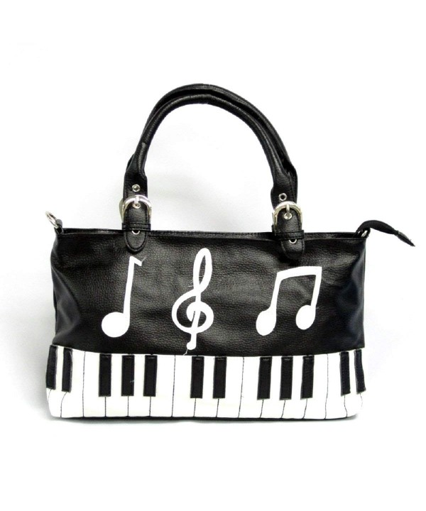 Music Notes Piano Keyboard Shoulder