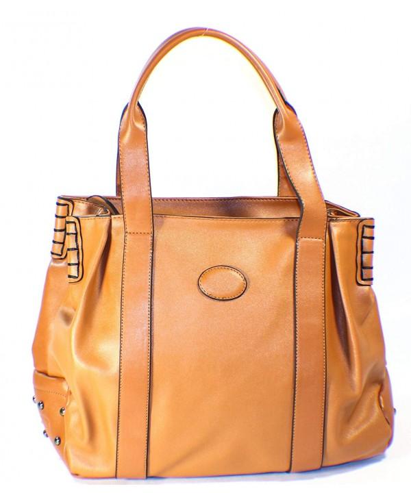 AM Landen Studded Shopper Handbag