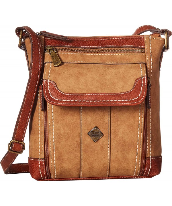 Womens Braefield Walthum Crossbody Saddle