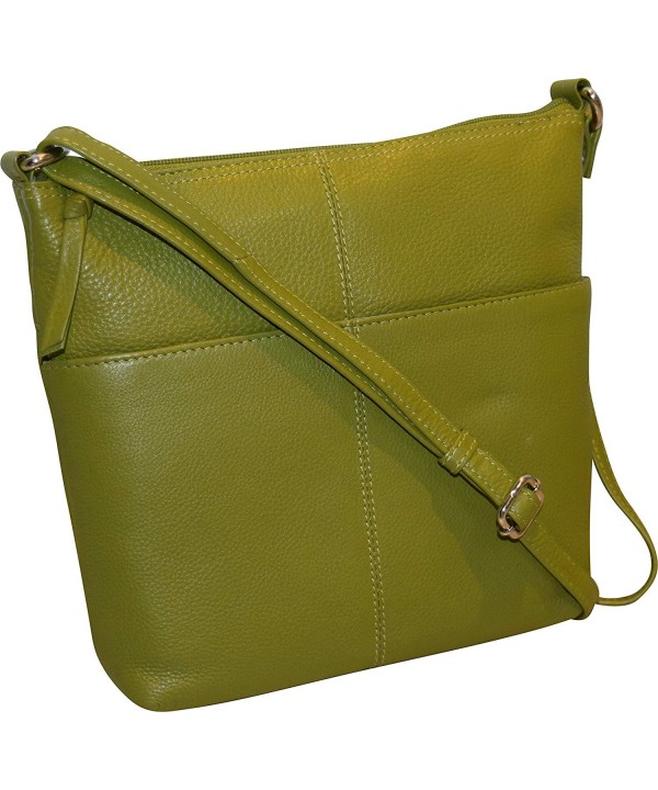 Fashion Womens Genuine Leather Crossbody