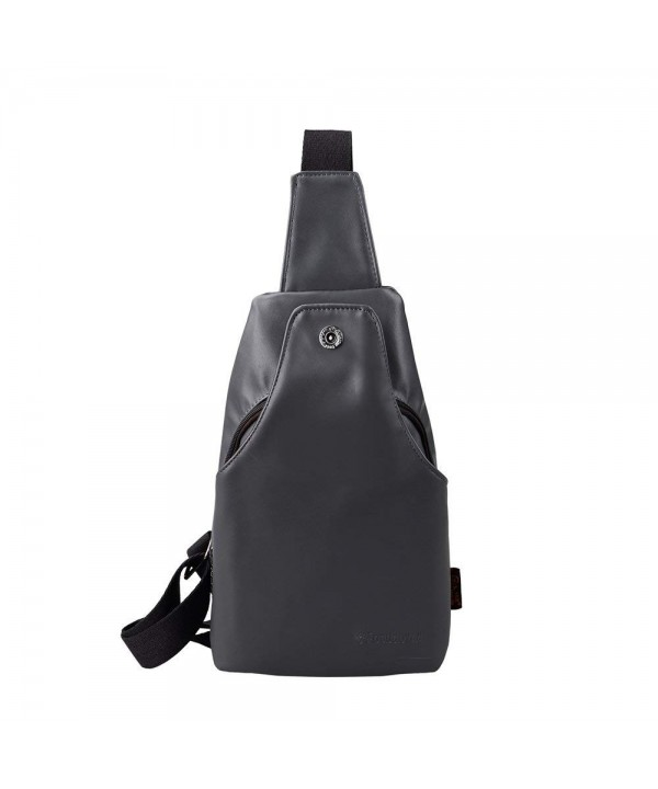 Epokris Leather Small Unbalance Daypacks