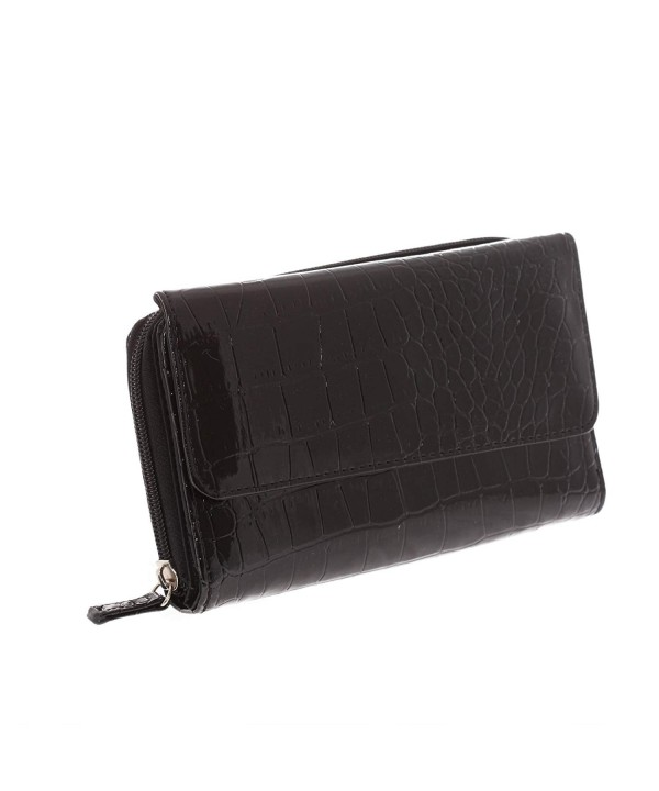 Mundi Big Wallet Croco Pattern
