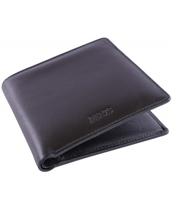 Dents Leather Credit Bill Fold Wallet