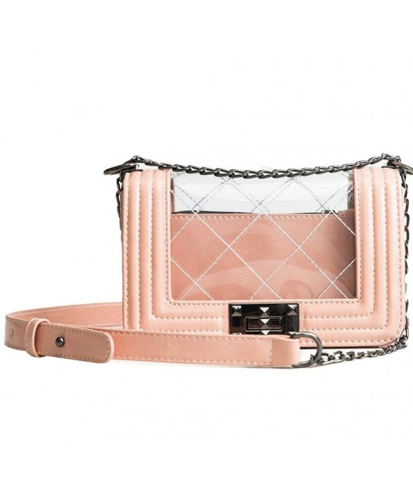 Donalworld Women Clear Satchel Messenger