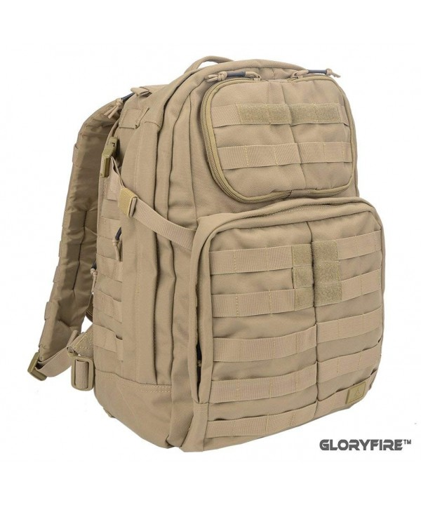GLORYFIRE Tactical Backpack Compact Trekking