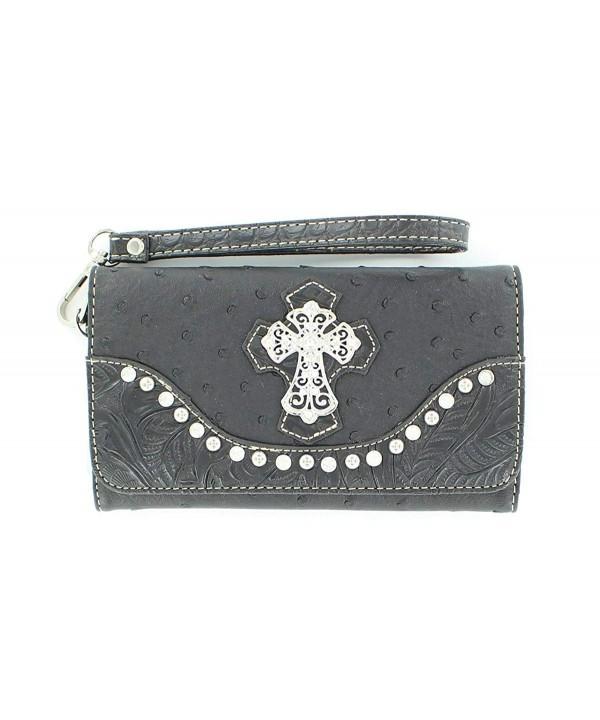 Blazin Roxx Womens Ostrich Wallet