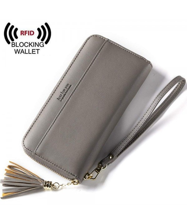 Leather Classic Organizer Removable Wristlet