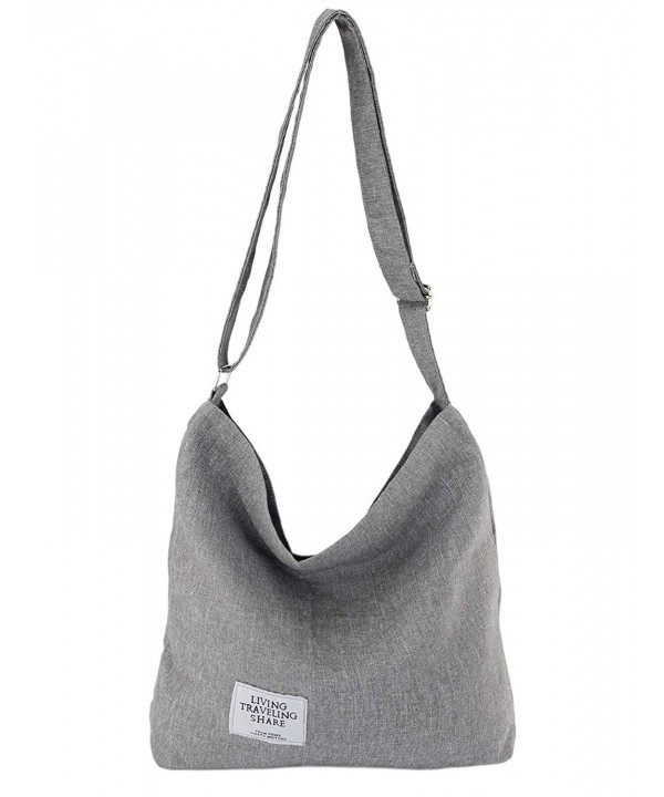Womens Canvas Crossbody Messenger Shoulder