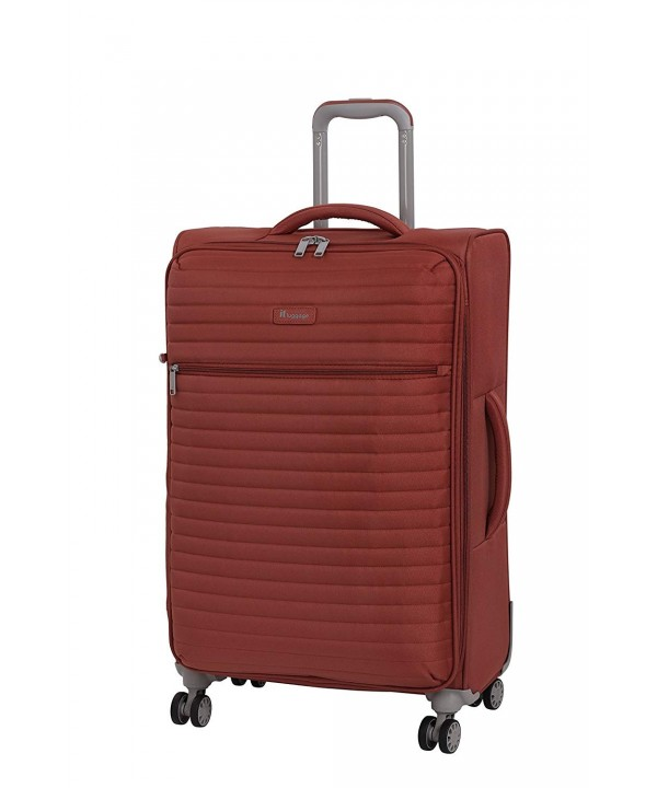 luggage Quilte Lightweight Spinner Burnt