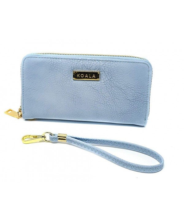 Magnetic Wristlet Wallet Leatherette Removable
