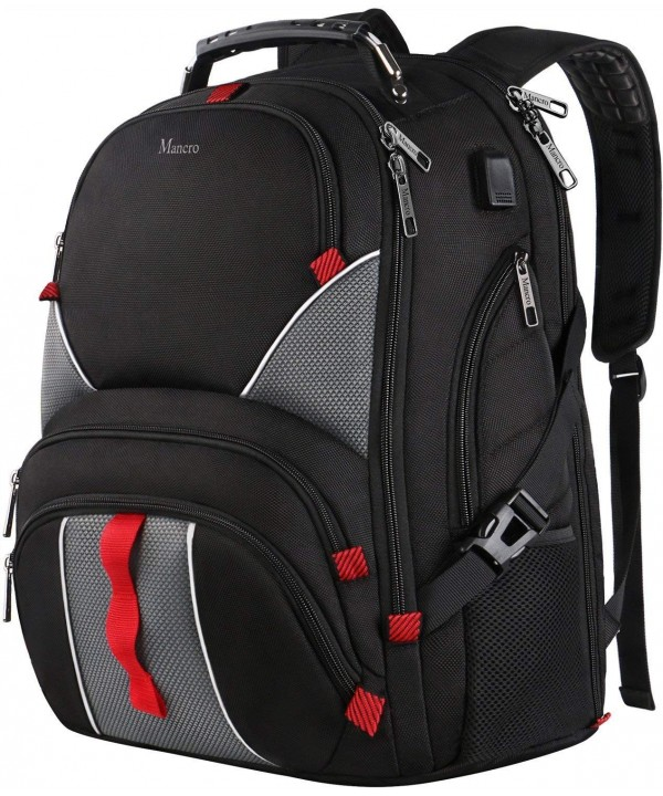 Backpack Capacity Backpacks Resistant Notebook