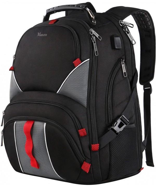 Backpack Capacity Backpacks Resistant Notebook