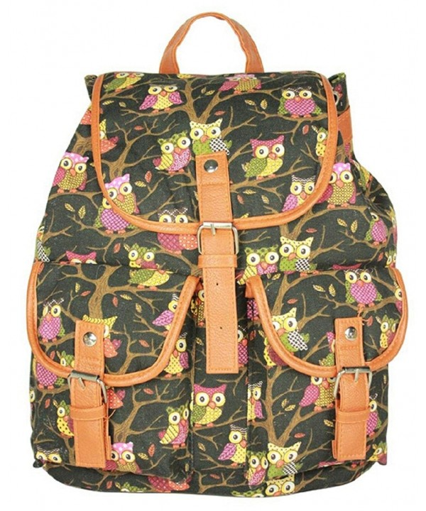 Snlydtan Unisex Print Magnetic Backpack