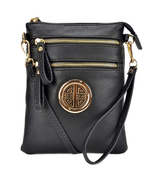 Crossbody Lightweight Shoulder Messenger Small Black