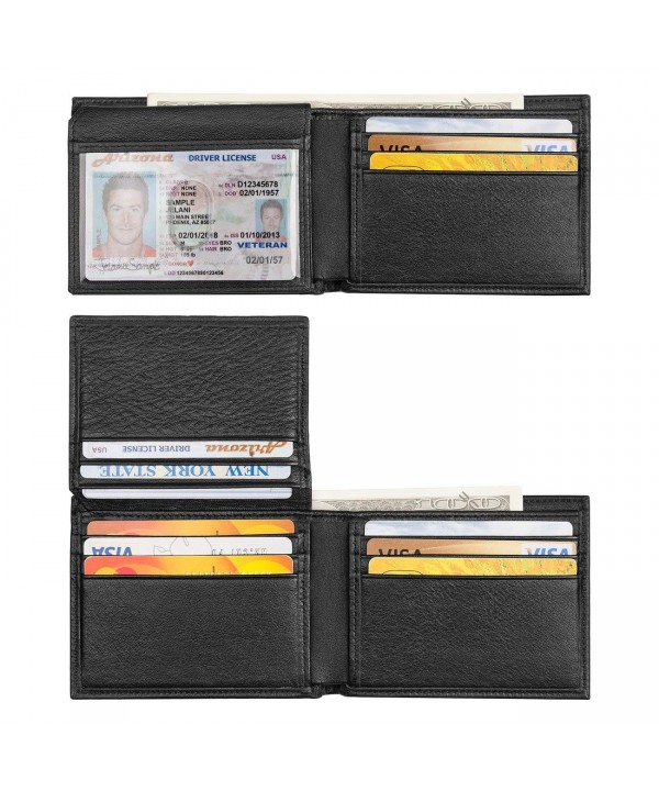 Augus Wallet RFID Bifold Window