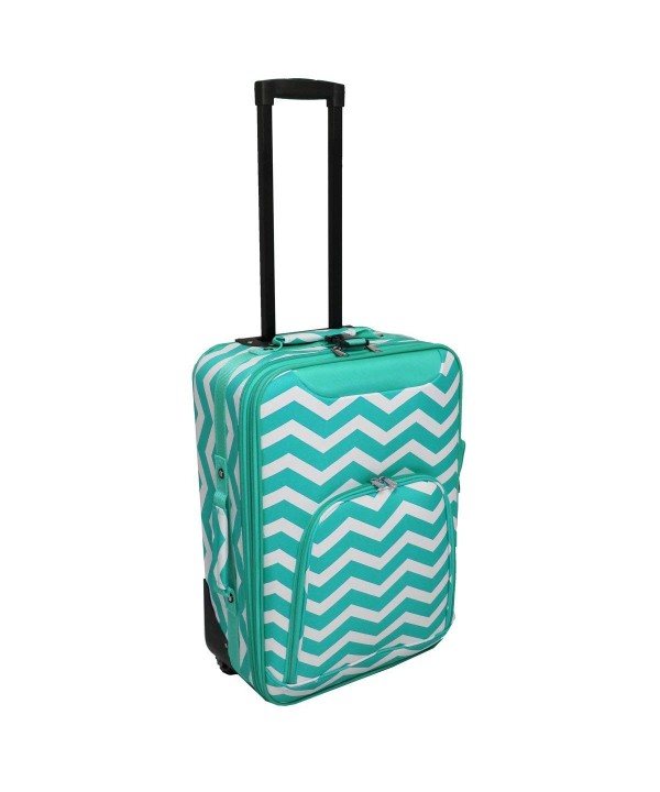 20 Carry On Suitcase Color Teal