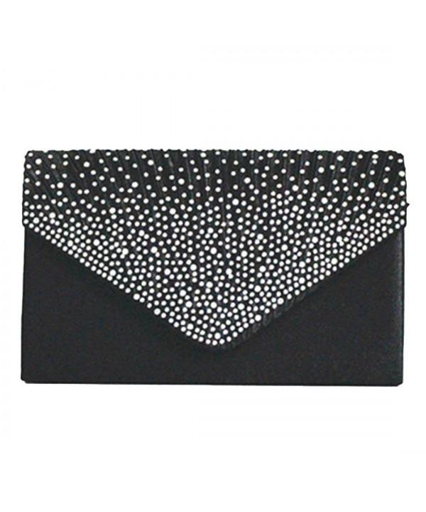 Evening Envelope Rhinestone Frosted Handbag