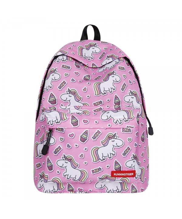 Backpack Unicorn Shoulder Teenage Students
