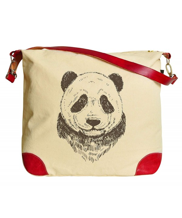 Panda Printed Canvas Shoulder WAS_33