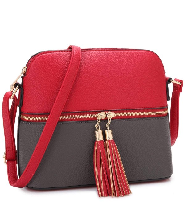 DASEIN Lightweight Medium Crossbody Handbag