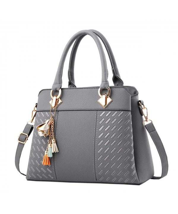 Fashion Leather Handbags Satchel Top Handle