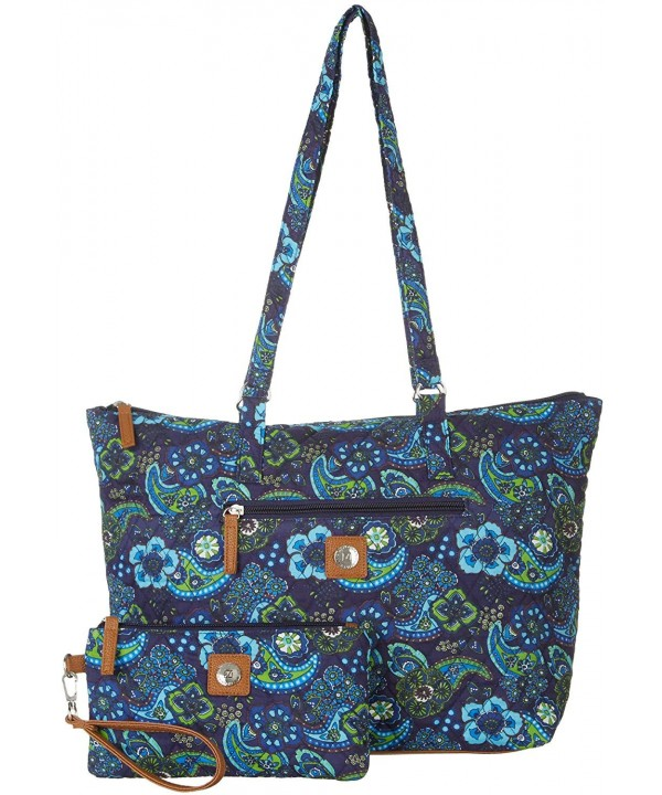Stone Mountain Paisley Handbag multi